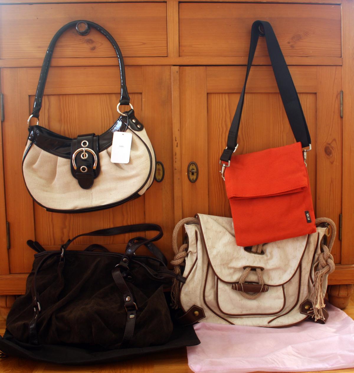 Taschen von ara, Franco Roma und Nava