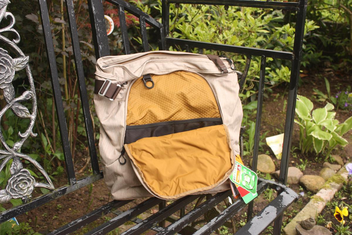 Rucksack von Vaude, Vortasche