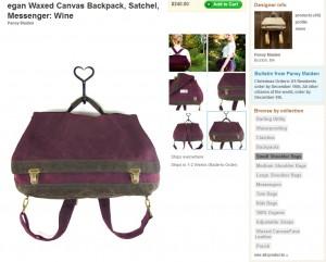 Backpack oder Tasche