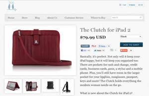 Clutch fürs iPad