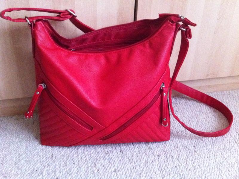 Damentasche von Adagio in rot