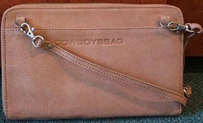 Cowboysbag, Rückansicht