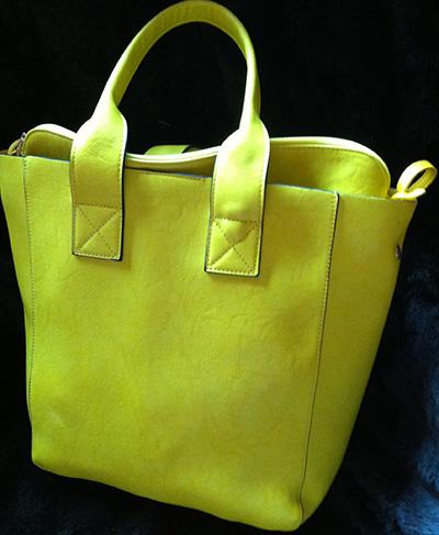 gelber Shopper