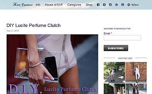 Lucite Clutch
