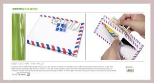 Briefumschlag-Brieftasche