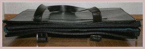 Schwarze Businesstasche, Vorderansicht
