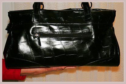 Dandelion Citybag von Fiorelli, schwarz, Rückansicht