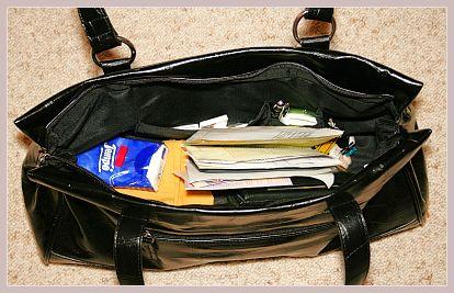 Dandelion Citybag von Fiorelli, schwarz, Innenansicht