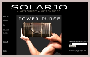 Solarjo Power Purse