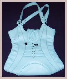 Korsagen-Handtasche, Vorderansicht
