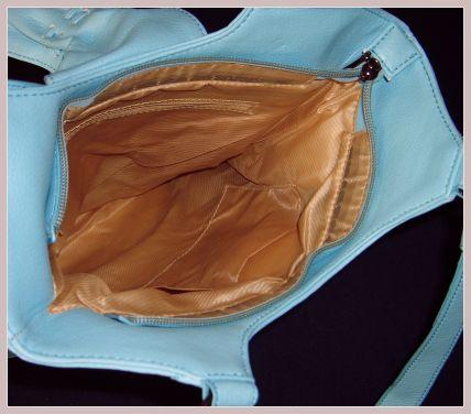 Korsagen-Handtasche, Innenansicht