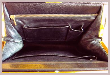 Omas Handtasche, Innenansicht