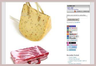 Screenshot der Futtertaschen