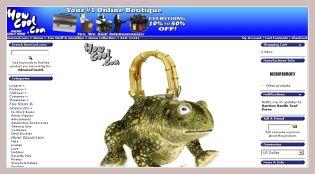 Screenshot der Froschtasche