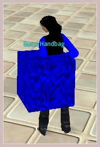 Gucci Handbag im Second Life Stil