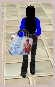Designer Handtasche im Second Life Stil