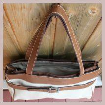 Handtasche im Herbstlook, Innenansicht