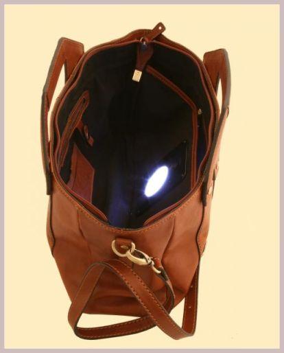 Handtasche mit integriertem Licht