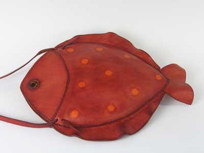 Handtasche 'happy fish' von Anna Gunnarsdottir