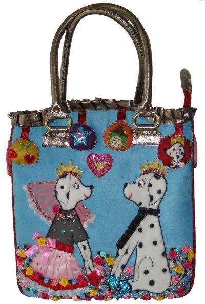 Tasche dogwedding von Mety Darmali