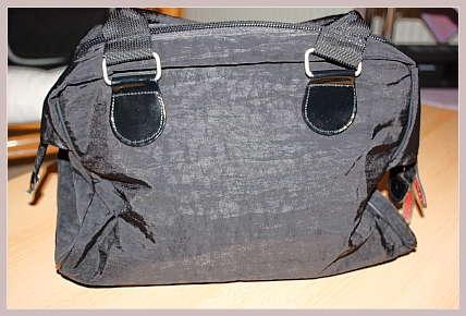 schwarze Bowlingbag von Paulpac