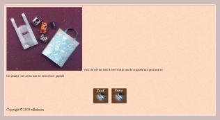Miniatur-Plastiktüten zum selbermachen