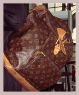 brauner Rucksack von Louis Vuitton