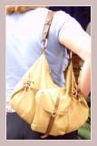 Tasche beim Markttag in Denia