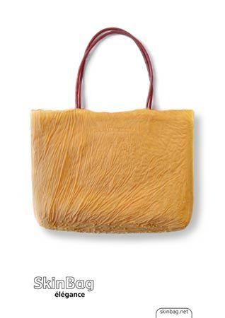 Handtasche von SkinBag aus hautähnlichem Synthetik