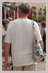 auf dem Mercadillo entdeckte Taschen