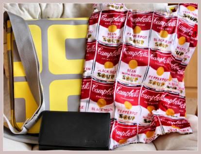 Laptoptasche von Bree, Shopper von Roo, Brieftasche von collection23