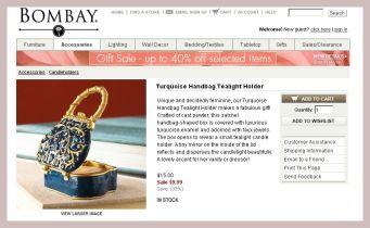 Screenshot des Teelichthalters