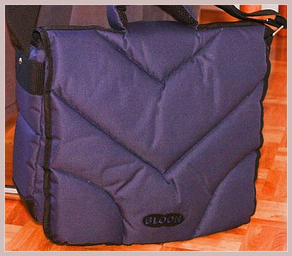 Bloon Laptoptasche in blau