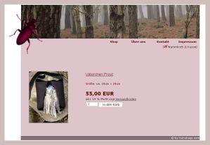 Screenshot der Filztaschen