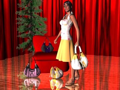 virtuelle Taschen