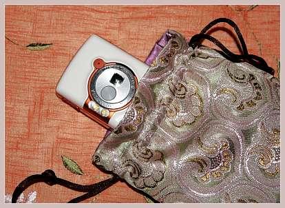 Seidenbeutel fürs Handy