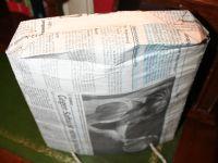 Zeitungstüte, Bodenansicht